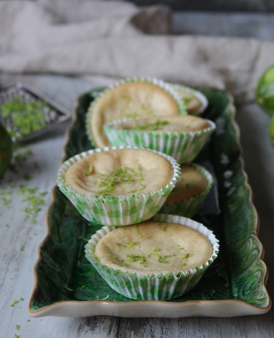 Key lime pie i muffinsformar